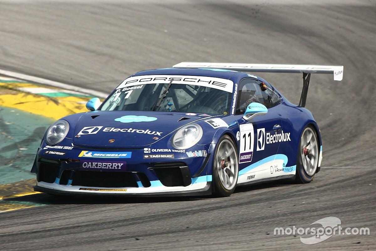 Porsche Carrera Cup: Pedro Boesel tem vitória inédita na categoria