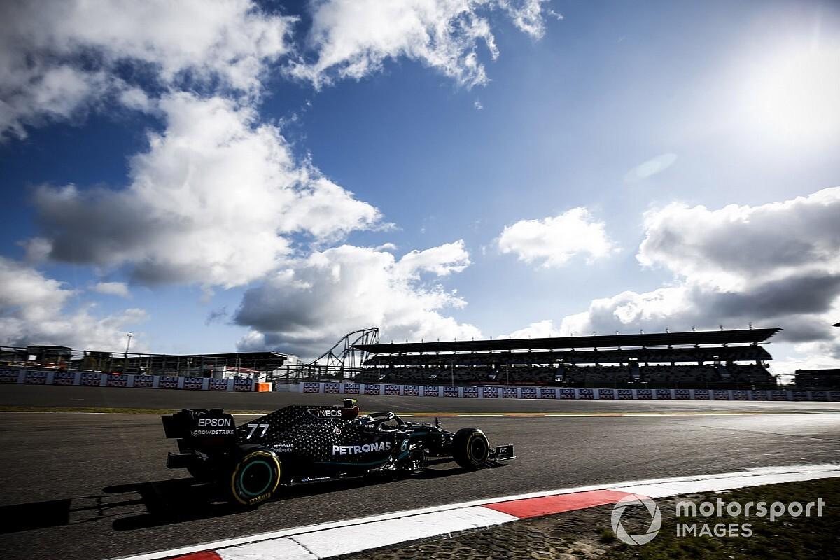 Bottas snelste in enige training voor de Grand Prix van de Eifel