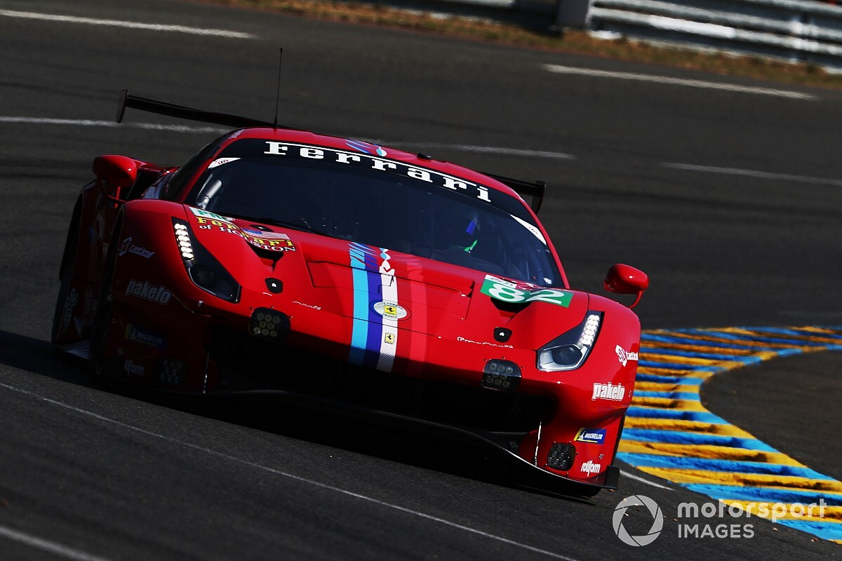 """Bourdais redécouvre Le Mans en Ferrari : """"C'est une vraie GT!"""""""