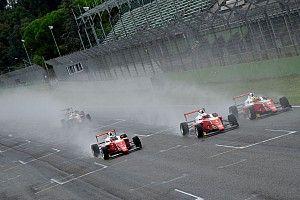 F4, Imola, Gara 2: sul bagnato Edgar su Crawford e Rosso