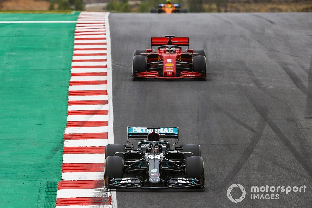 Ferrari nie dogoni Mercedesa