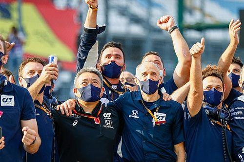 アルファタウリ、チームとして2008年以来2勝目。トスト代表「モンツァで歴史を再現」