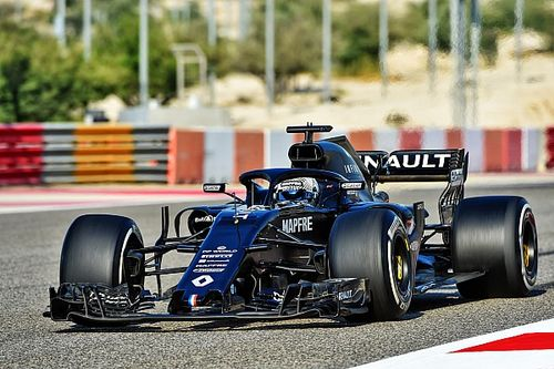 Foto's: Alonso test met Renault R.S.18 in Bahrein