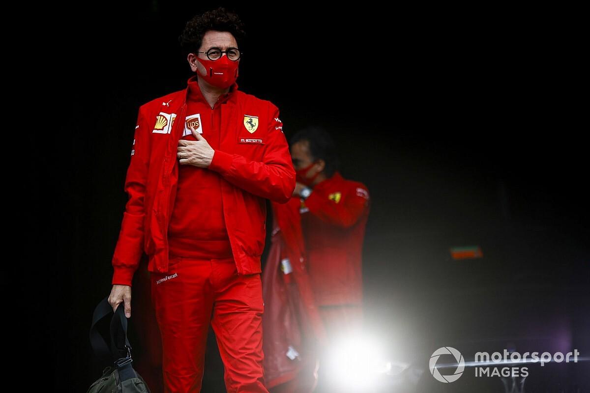 F1: Binotto responde al ataque de Toto Wolff sobre Ferrari