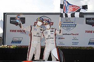 IMSA Road Atlanta: Acura survives ultra-late restart to win