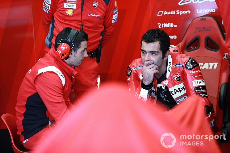 "Ducati: Petrucci's post-renewal slump ""just a coincidence"""