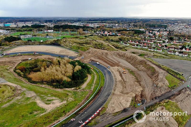 L'avancée des travaux à Zandvoort en images