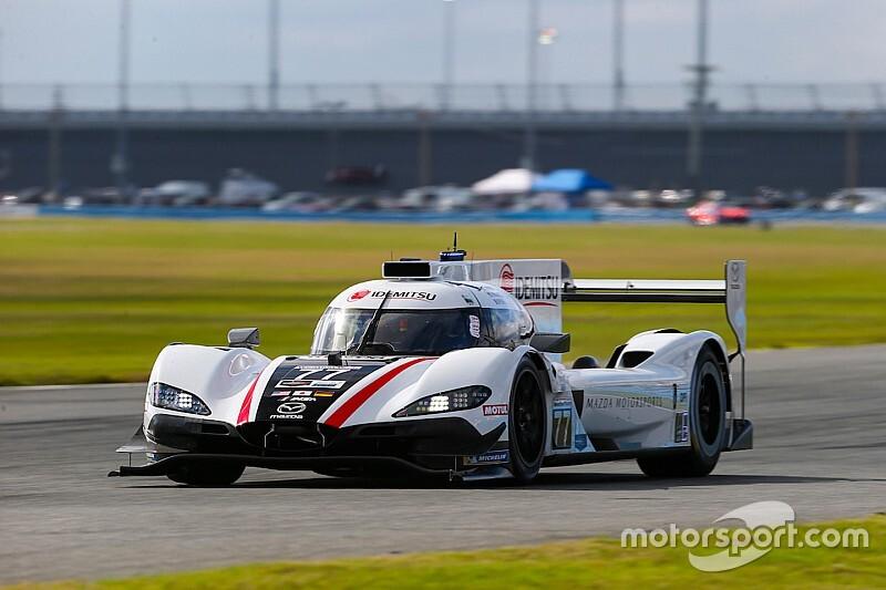 Mazda lidera segunda sesión del viernes y Montoya 4°