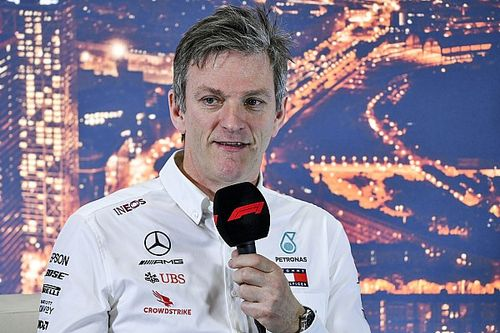 Mercedes Geser Posisi James Allison