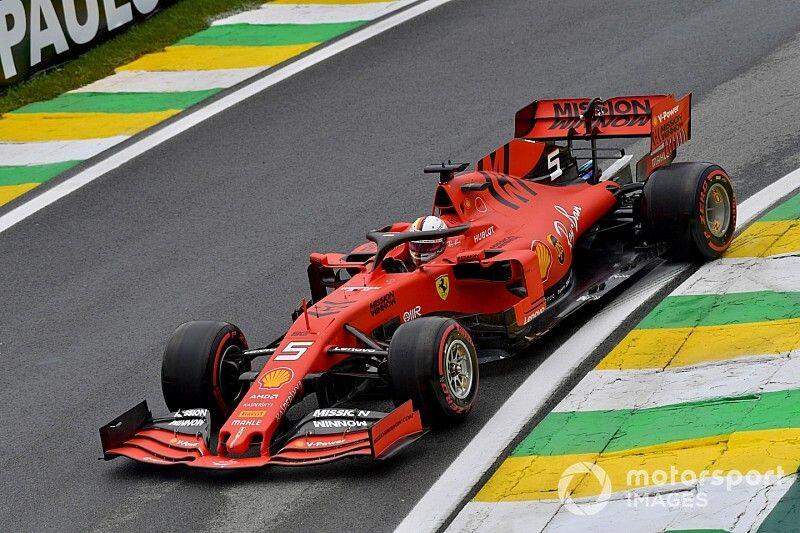 Ferrari manda en el movido viernes de Brasil