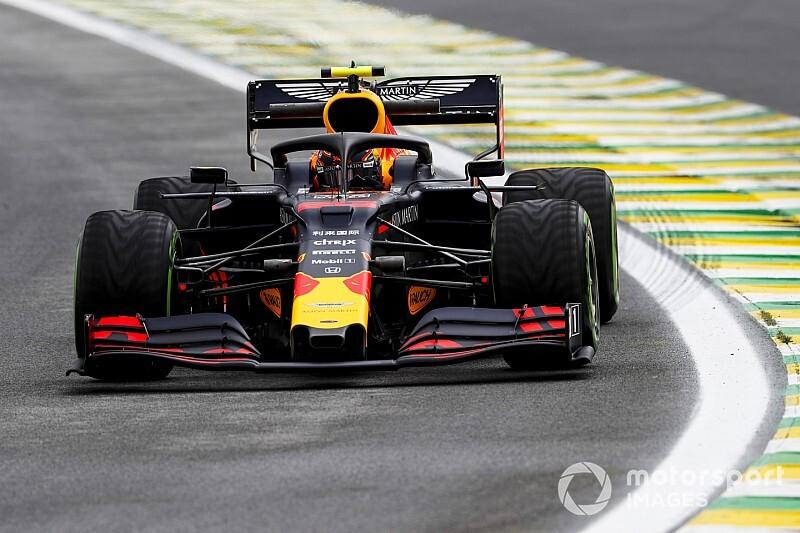 Albon rijdt snelste tijd en crasht in eerste training GP Brazilië