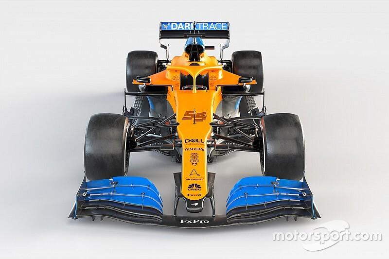 F1: ecco la prima foto della McLaren MCL35 di Sainz e Norris