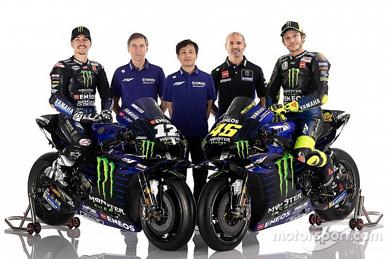 Foto's: Teampresentatie van de Yamaha-teams