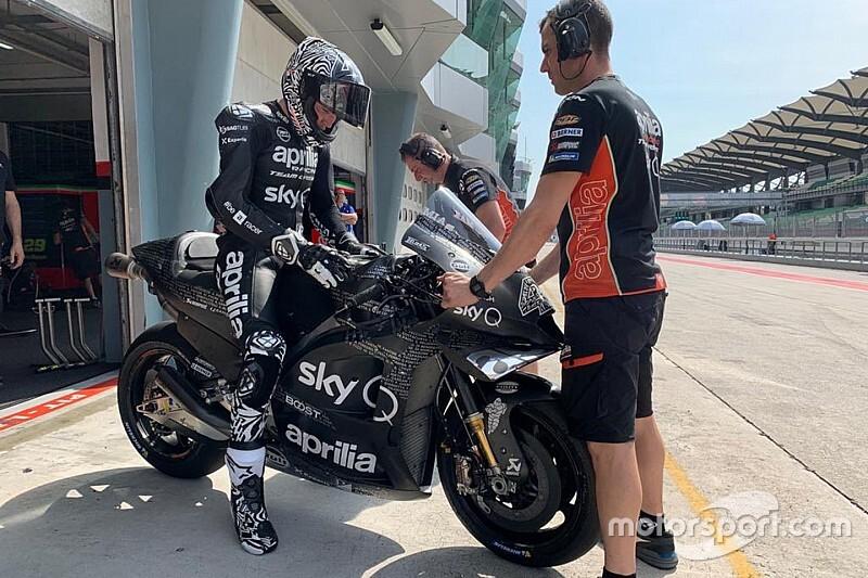 "Aleix Espargaro entusiasta: ""RS-GP 2020? Posso dire solo wow!"""