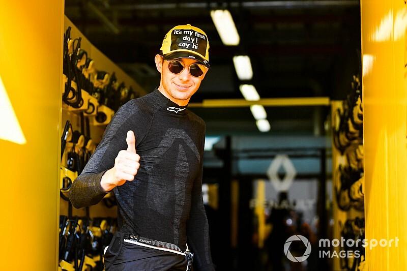 """Ocon apporte une """"autre dynamique"""" à Renault"""