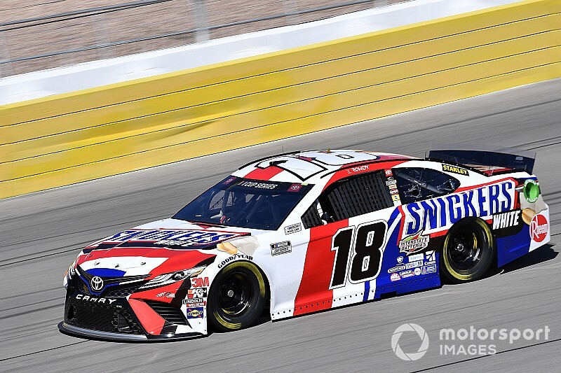 Las Vegas Cup qualifying rained out; Kyle Busch on pole