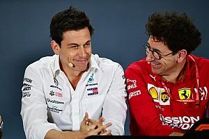 """Binotto: """"Mercedes'in yerinde olsaydık şimdiye kadar Hamilton'la sözleşme yenilemiştik"""""""