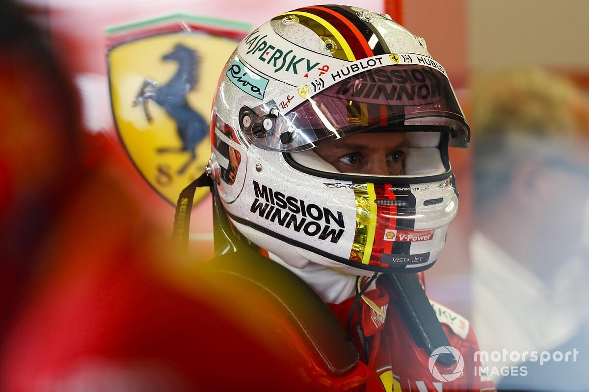 Vettel szerint csak a sajtó állítja be, hogy rossz a kapcsolata Leclerc-kel