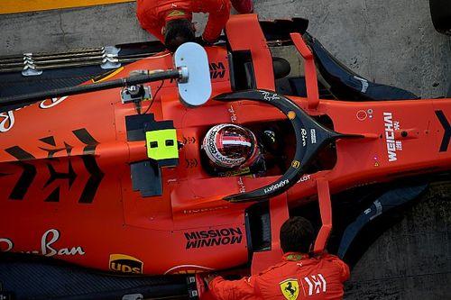 Sainz y Leclerc rodaron por segundo día con los Pirelli de 18 pulgadas