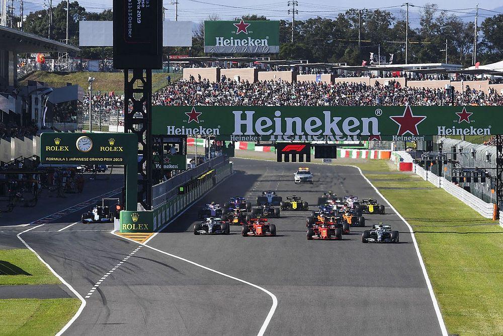 F1 Resmi Konfirmasi Pembatalan GP Jepang 2021