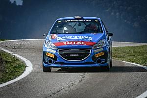 Peugeot Compétition 208 Top: Griso vince alla grande il 2 Valli