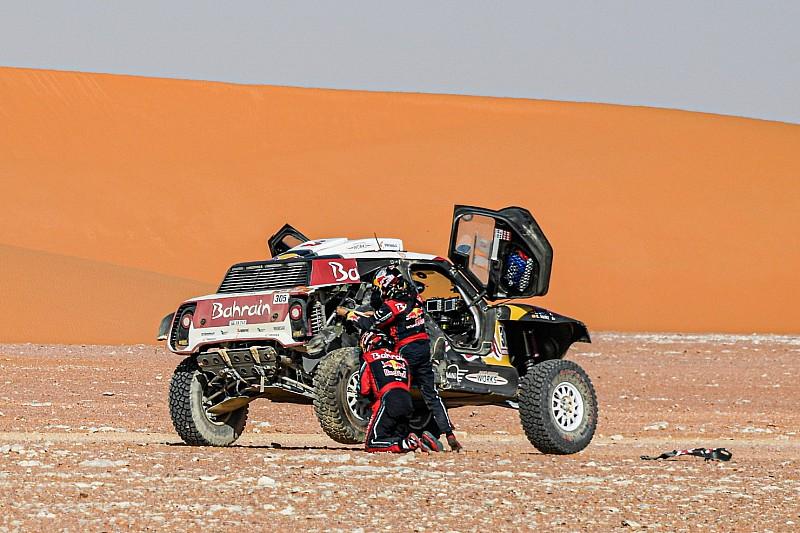 Sainz is nagyot kapott a Dakar 10. szakaszán, így is nőtt az előnye