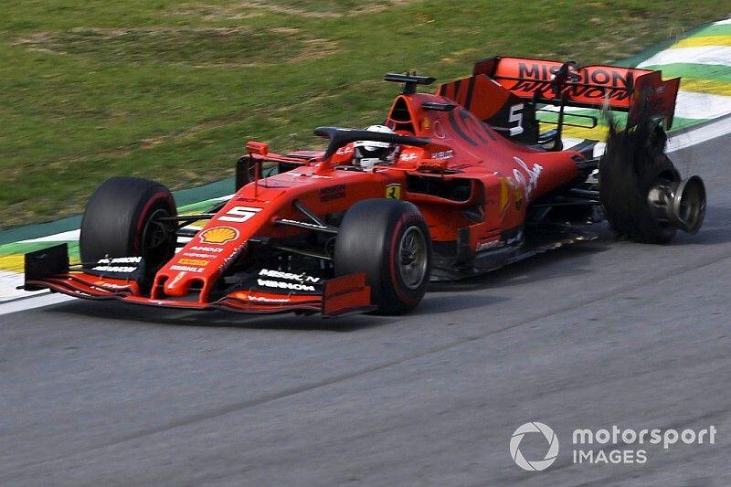 El toque entre Vettel y Leclerc, sin culpables