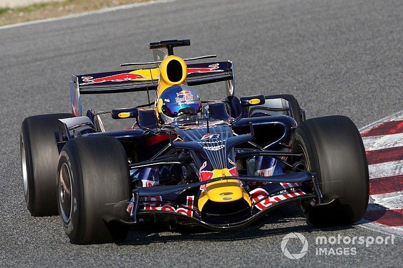 C'était un 17 novembre : Loeb pilote une Red Bull F1