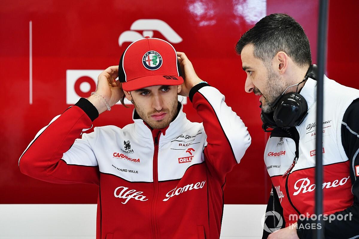Giovinazzi örült annak, hogy a Ferrari listáján lehetett Vettel helyén, de nem őt választották