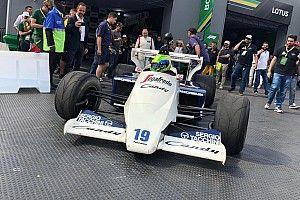 El festival homenaje a Senna en Sao Paulo