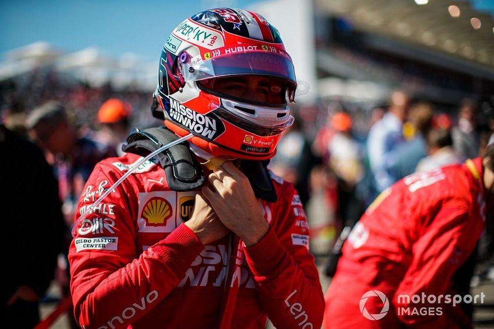 Leclerc penalizará en Brasil por estrenar motor