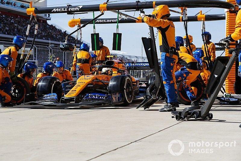 McLaren admite que sus pitstops no están al máximo nivel