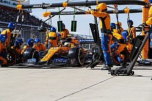 McLaren admits F1 pitstops 'not at top teams level'