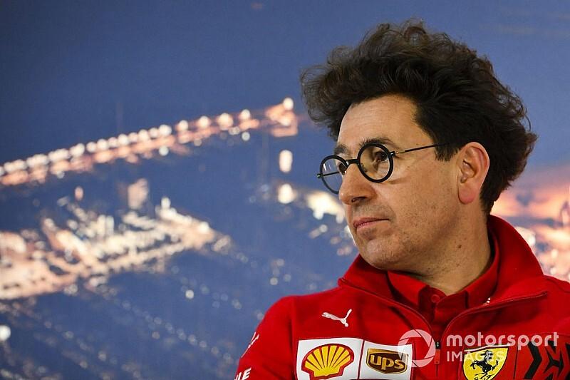 Binotto waarschuwt personeel Ferrari voor tegenvallers
