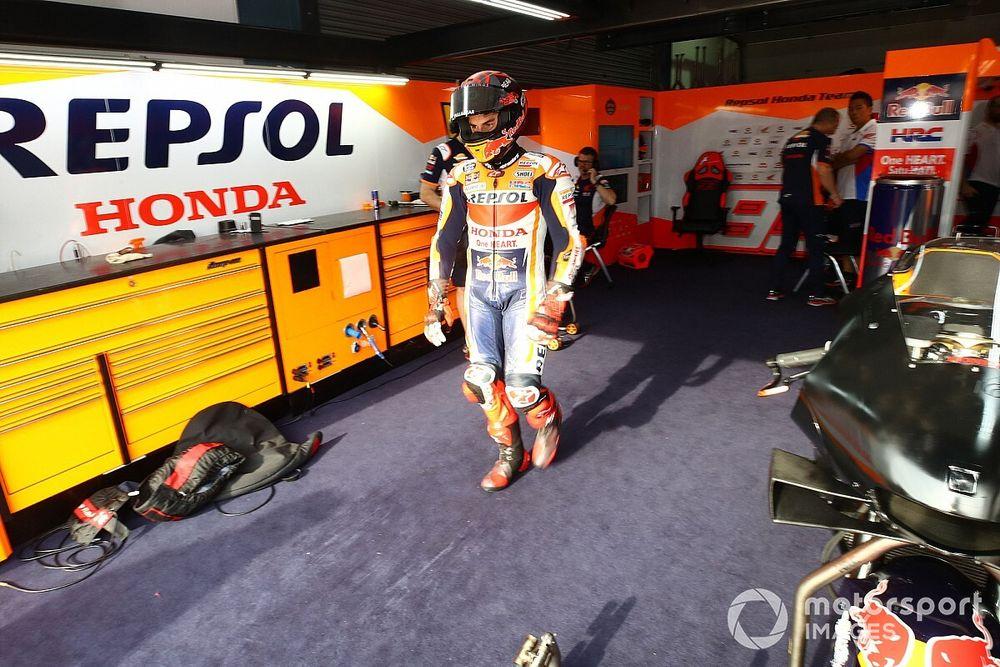 Márquez supera el examen médico y es declarado apto para subir a la moto
