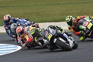 Положение в общем зачете MotoGP после Гран При Валенсии