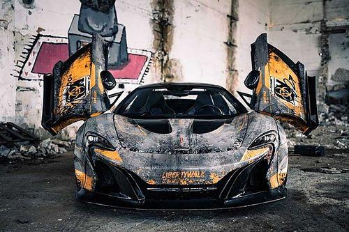 McLaren 650S Чернобыль Эдишн. Да-да, Chernobyl Edition — мы все правильно написали