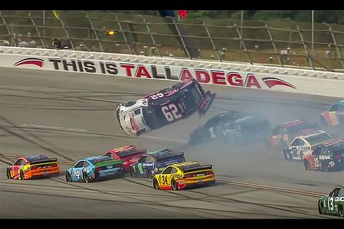"Gaughan walks away from ""easy, quick flip"" at Talladega"