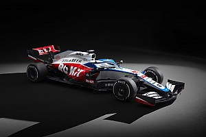 Williams показала машину на 2020 год. Она бело-сине-красная