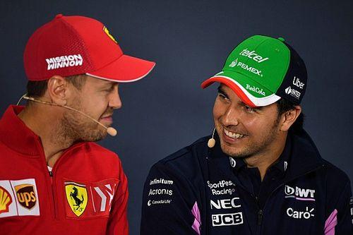 """Pérez: """"Vejo Vettel mais próximo da aposentadoria do que indo para outra equipe"""""""