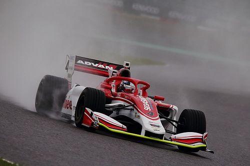 Suzuka Super Formula: Kunimoto leads washed-out practice