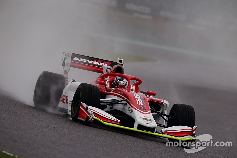 Suzuka Super Formula: Kunimoto leads washed-out practice
