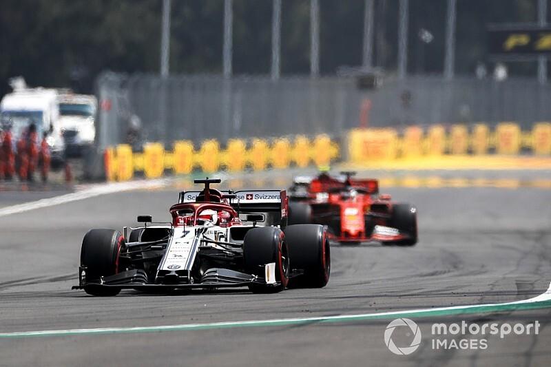 Räikkönen: Entre Ferrari et Alfa, la pression n'est pas différente
