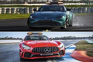 Maylander elárulta, hogy melyik biztonsági autó a gyorsabb – a Mercedes vagy az Aston Martin?