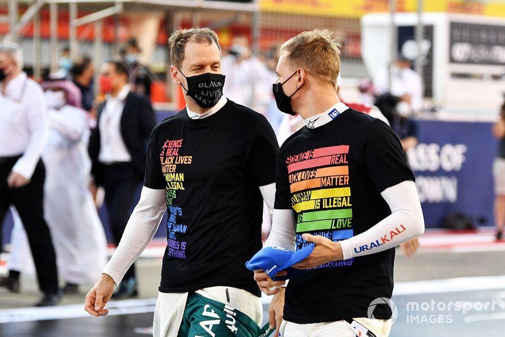 Schumacher: Vettel giving me lots of F1 advice in good friendship