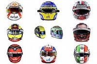 GALERÍA: los cascos de los pilotos de F1 para 2021