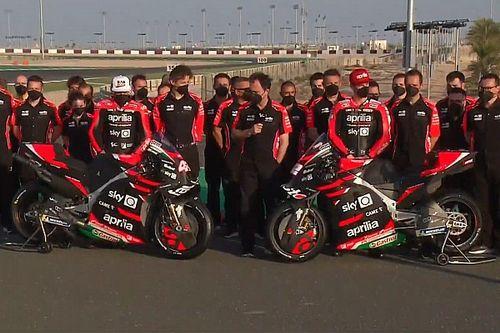 Aprilia unveils new MotoGP bike as Savadori gets race seat