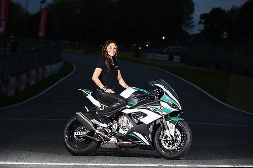 British Superbike Championship's only female team owner on women in racing