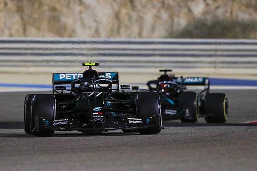 """F1: Bottas diz não sentiu """"grande responsabilidade"""" para guiar Russell em Sakhir"""