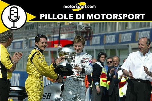 """Podcast: Brasile 2003, Fisichella racconta la sua prima e """"pazza"""" vittoria in F1"""
